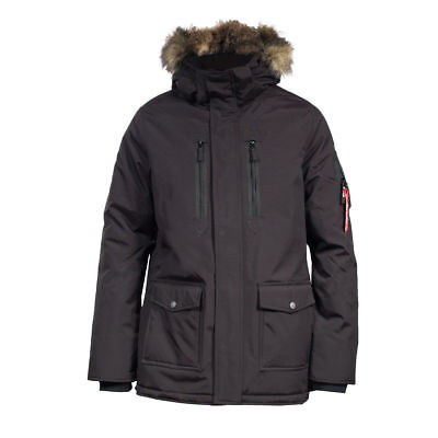 Horze Supreme Landon Men's Long Parka Jacket