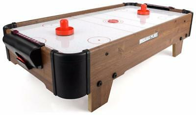 20 Inch Air Hockey Table Game Childrens Kids Adults Family Fun Xmas Gift New