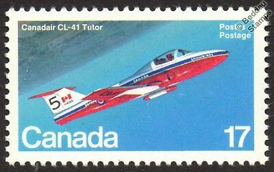 RCAF CANADAIR CL-41 / CT-114 TUTOR Jet Trainer Aircraft Mint Canada Stamp