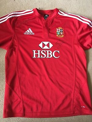 signed England rugby shirt (Large) South Africa 09 - Jonathan Davis Brian Moore