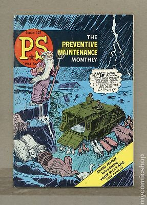 PS The Preventive Maintenance Monthly (1951) #107 VG+ 4.5