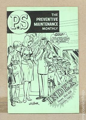 PS The Preventive Maintenance Monthly Index #196107 FN- 5.5