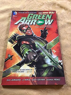 NEW 52 Green Arrow Volume 1: The Midas Touch COMIC BOOK Paperback
