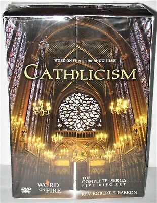 Catholicism Word On Fire The Complete Series Rev Robert Barron 5 Disc Set - New