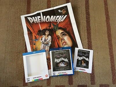 Phenomena (Blu-ray, DVD Combo, 2012, 2-Disc Set) - Arrow Video, Argento - OOP!