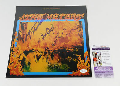 The Meters Signed Album Cover Photo Fire On The Bayou 4 JSA Autos