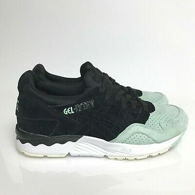 half off 2a517 b39c2 ASICS GEL LYTE V Black Mint Green White Nubuck Suede H737L-9090 Japan Tiger