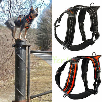 Comfort No Pull Large Dog Harness Choke Free Reflective Outdoor Adventure Vest