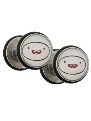 Adventure Time Finn Plugs Set of 2 AT Body Jewellery