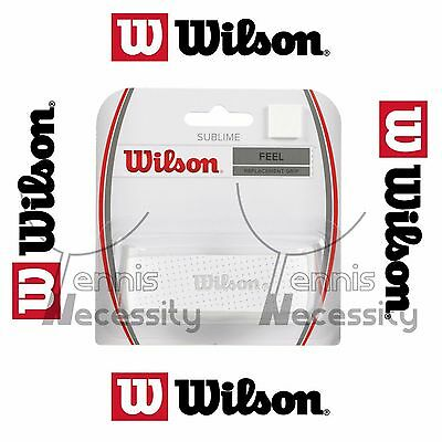 Wilson White Sublime Feel Replacement Grip Tape Tennis Squash Racket Racquet