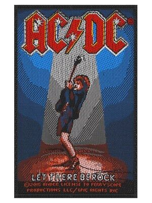 AC/DC Let There Be Rock Patch 7 x 10cm