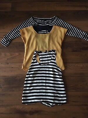 Lot Of 3 Women's Shirts Size Small - H&M Banana Republic