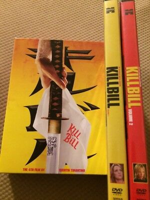Kill Bill Vol 1 & 2 DVD Collection