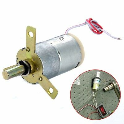 DC 12V 25 RPM High Torque Gear-Box Stabilivolt Electric Motor Replacement 32mm