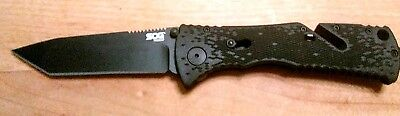 SOG Trident Tanto Bladed Assisted Opening Folding Knife