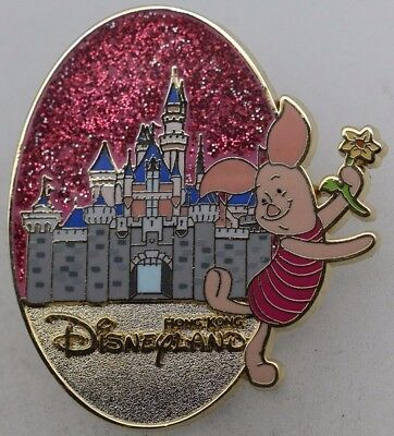 Disney Character and Castle Mystery Tin Collection Piglet Pin R1