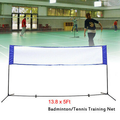 3in1 Game Size 13.8 x 5Ft Volleyball Beach Tennis Badminton Net System Outdoor