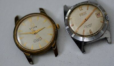 Two vintage gents Watches (repair)