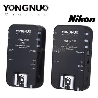 YONGNUO YN622N II 2.4G Wireless i-TTL Flash Trigger Receiver Transmitter X3U2