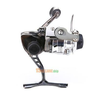 Ice Fishing Mini Pole Line Spinning Reels Metal Steel Lightweight Portable #ORP