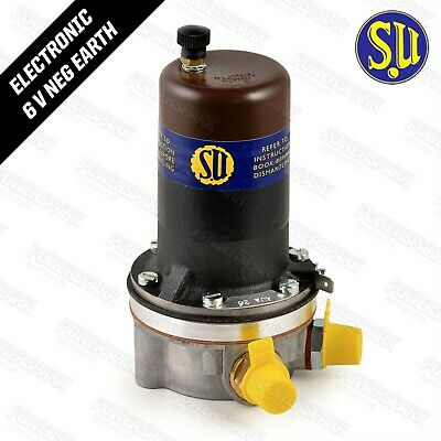 SU AUA26 Austin Morris MG Wolseley 6V Fuel Pump Low Pressure upto 1.5psi Carb