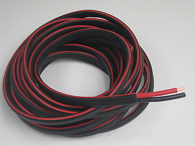 20m 8B&S DUAL BATTERY CABLE 8 B S Twin 2 Core Auto Metre B&S 8BS BS Wire 12V 4x4