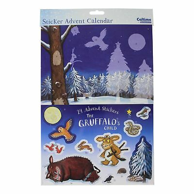 Caltime Character Paper Christmas Advent Calendar - 410109 Gruffalo's Child