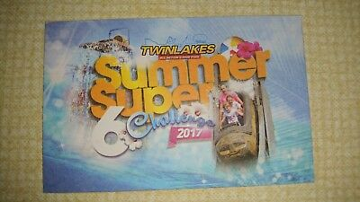 Twinlakes Discount VoucherSummer Super 6 Challenge Family of 4 Entry £5 Total!