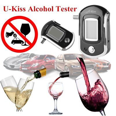 Portable Digital Alcohol Breathalyser Breath Tester Breathtester w/ LCD Screen M