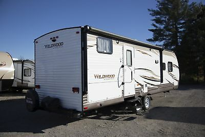 New 2017 Forest River Wildwood 27DBK Travel Trailer Bunkhouse Camper on Discount