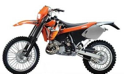 MANUALE OFFICINA KTM MXC - EXC - SX my 99 - 03 WORKSHOP MANUAL mail