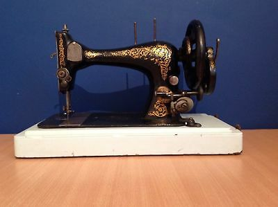 1893 28K Antique Singer Sewing Machine Model:11745987 Rose Buttercup Decals