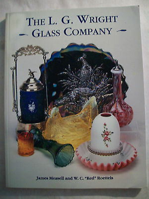 L.G. WRIGHT GLASS $$$ id PRICE VALUE GUIDE COLLECTOR'S BOOK