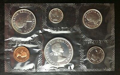 1963 Canada Prooflike Set of Coins