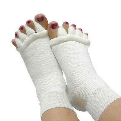 Toe Separator Massage Compression Yoga Socks- Foot Alignment Bunion Pain Relief
