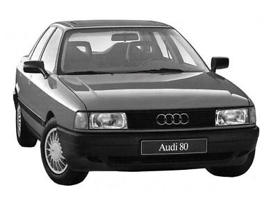 Manuale Officina Audi 80 & 90 B3 My 1986 - 1991 Wokrshop Manual Service Email