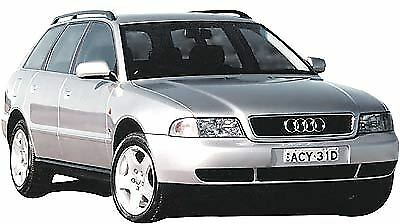 Manuale Officina Audi A4 Avant My 1995 - 2000 Workshop Manual Service Email