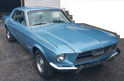 1967 Ford Mustang 2-Door Hardtop 1967 Ford Mustang Coupe