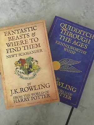 Fantastic Beasts And Where To Find Them And Quidditch Through The Ages Set