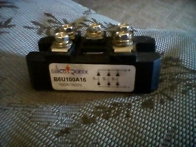 Silicotronix Full Wave Bridge Rectifier 100A / 1600V 3 Phase Module