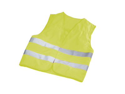 Genuine Mercedes-Benz Roadside Safety Fluorescent Compact Jacket A0005833500 NEW