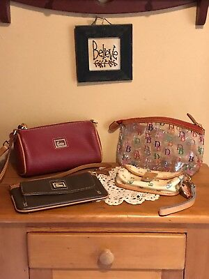 Dooney and Bourke Lot of 4 items