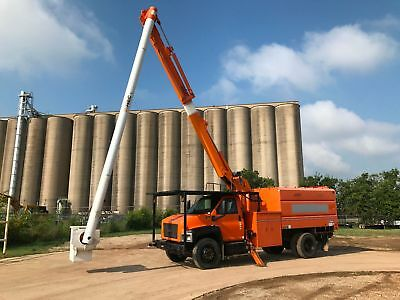Gmc Forestry Bucket Truck 60 Ft Low Miles Altec Chipper Dump Bed Runs Great 2008