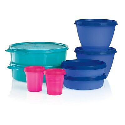 New Tupperware Little Lil Bit of Everything Wonders Midgets Snack Cups Bowls