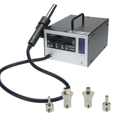 Aoyue 8900 Industrial SMD Digital 1200 Watts Hot Air Rework Station with Vacuum