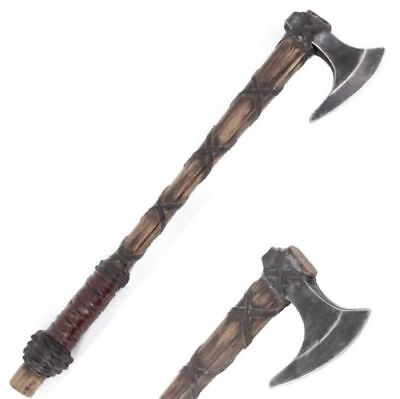 "24"" Viking Battle Axe Medieval Foam Costume Cosplay Weapon"