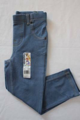 NEW Toddler Girls Jeggings Size 4T Light Blue Denim Leggings Stretch Pants Cute