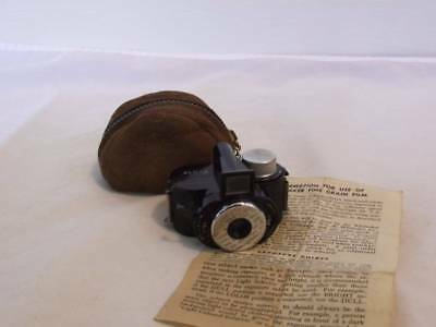 Vintage Whittaker Pixie Micro 16 Subminiature Camera with Case