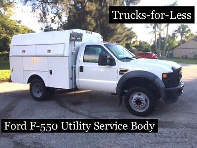 Ford F-550 Utility Service Truck Enclosed Body KUV Super Duty LOW RESERVE!!!!!!!