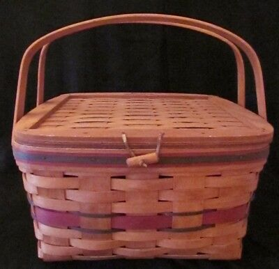 Longenberger Crisco American Pie Celebration Basket 1991